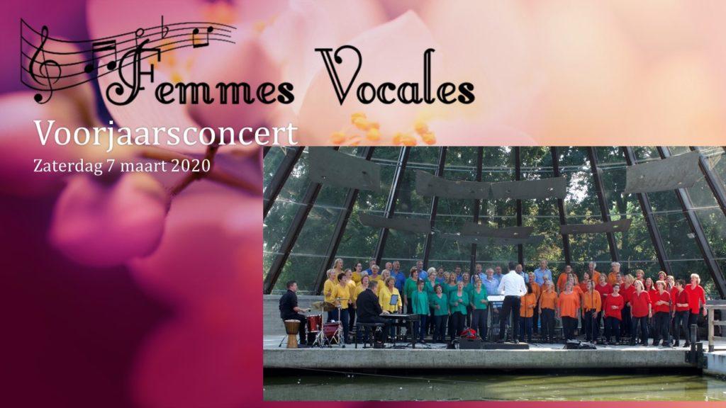 Voorjaarsconcert Femmes Vocales Meijel 7 maart 2020