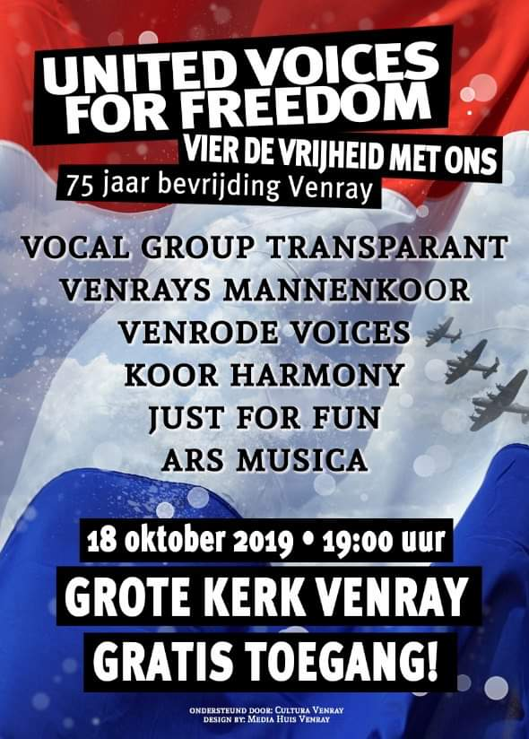 United Voices For Freedom 18-10-2019