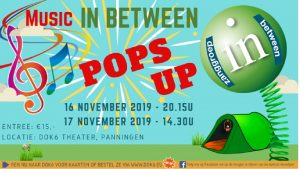 Music in Between 16&17-11-2019 Panningen