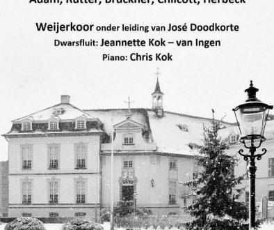Kerstconcert Weijerkoor 15-12-2019