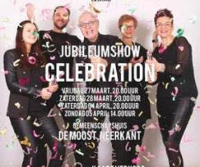 Jubileumshow Celebration, 27/28-03 en 4/5-04